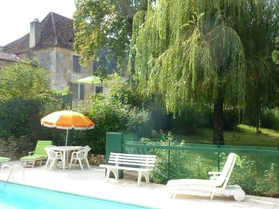 Photo for Mansion of the 18th century, restored with swimming pool 17 kms from Bergerac