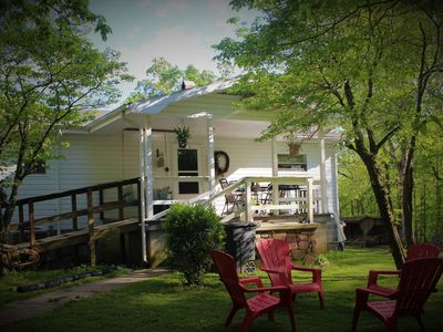 Photo for Farmhouse on 5 acres, many attractions and destinations close by.