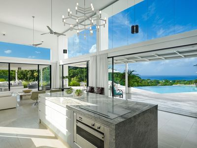 Photo for Stunning Barbados Villa With Infinity Pool And Sea Views