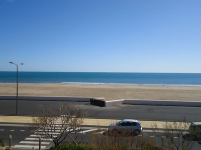 Photo for APPT T2 EXCEPTIONAL SITUATION, DIRECT ACCESS BEACH! BEAUTIFUL VIEW MER- NARBONNE BEACH