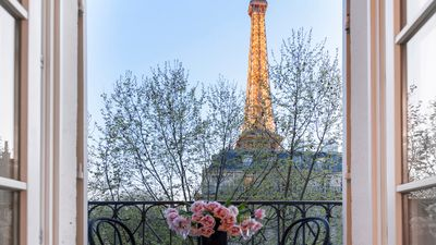 Photo for SALE! Spacious, Enchanting 1 Bedroom with Balcony and Instra-worthy Eiffel View