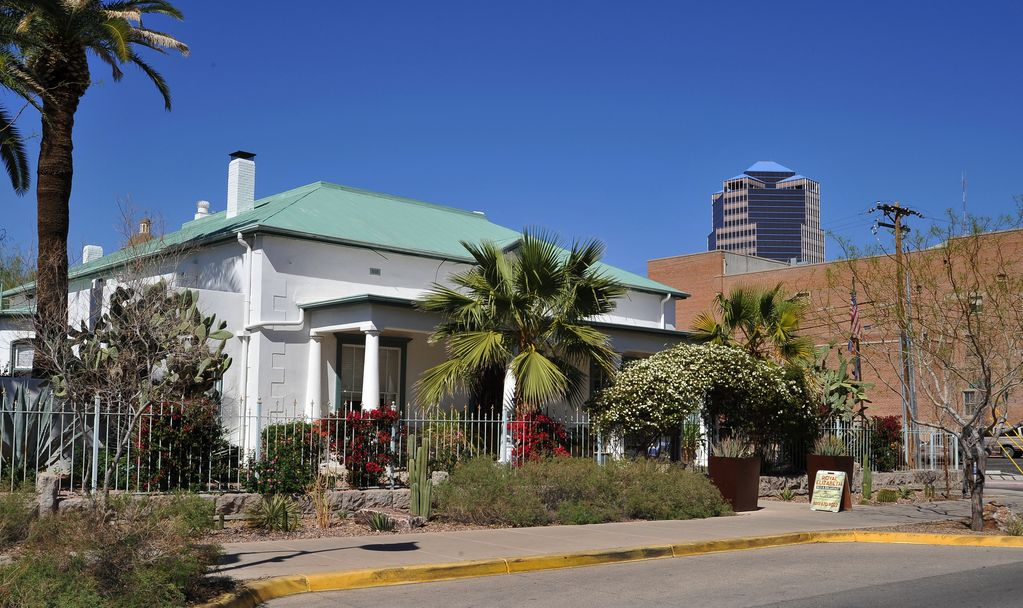 1878 Historic Mansion in Downtown Tucson Arizona