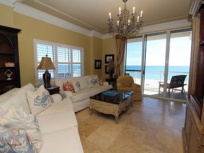 Photo for Spanish Key 501- Gulf Front Views from Terrace with Luxurious Interior!