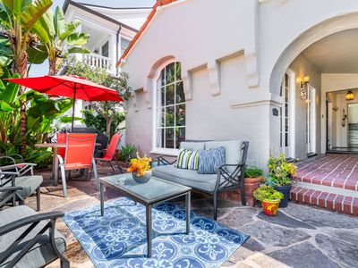 Photo for Classic Balboa Island Remodeled Hacienda - Walk to the Bay