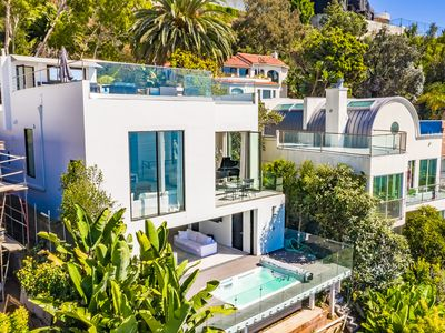 Photo for LUXE Palisades Villa with Breathtaking OCEAN VIEWS
