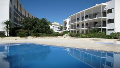 Photo for Modern 2 bed Apartment located inTavira Historic Town Centre with Pool & Parking