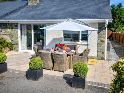 Photo for Magnific Holiday Home in Llanbedrog with Garden
