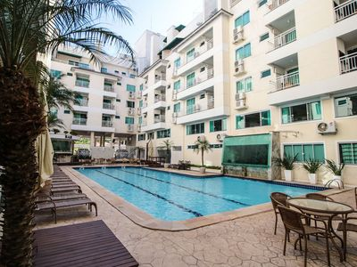 Photo for Rent Apartment 1 bedroom Summer Beach Pool Bombas / SC 184A