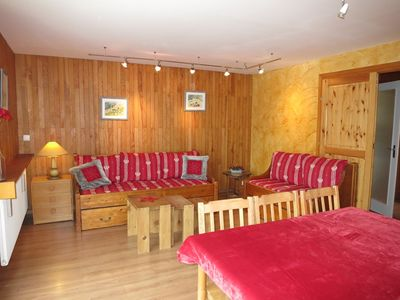 Photo for PLEASANT 3 ROOMS NEAR THE SLOPES WITH BEAUTIFUL LAKE VIEW SOUTH FACING - COMBE FOLLE 2A