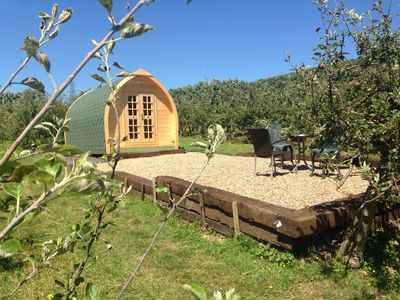 Photo for Glamping in the Weald of Kent. 1hour  from London