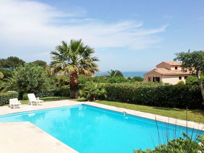 Photo for Nice apartment for 6 guests with A/C, private pool, WIFI, TV and parking