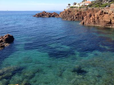 Photo for charming apartment 150 meters from the sea in SAINT RAPHAEL