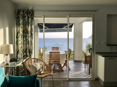 Photo for NEW! T2 Cozy with breathtaking views of the Diamond Rock, MARTINIQUE