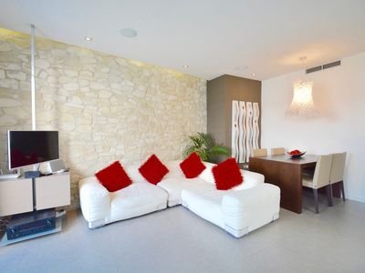 Photo for CHIC stylish apartment with 2 beds and roof terrac