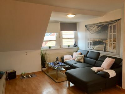Photo for Family-friendly quiet apartment *** Stadtkern 450 mtr. to the beach