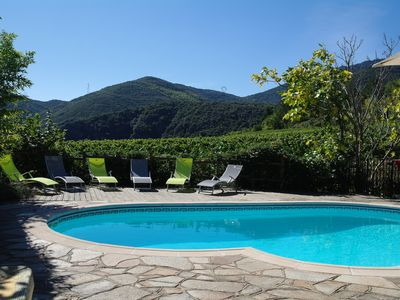 Photo for Gite with Private Pool and Sensational Mountain Views