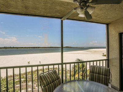 Photo for Just as you step in the front door of this cozy vacation rental you look straight out onto the Gulf of Mexico.