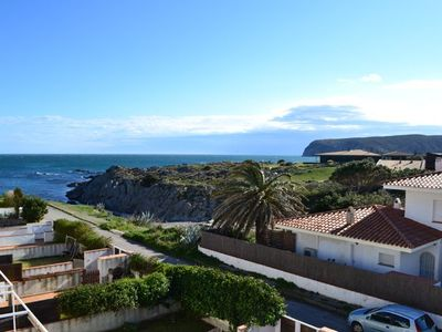 Photo for 101.24_Apartment with one doble bedroom and terrace with sea view placed in Es Caials