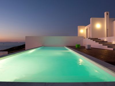 Photo for Luxury Villa Rina, Paros Island, 6 Bedrooms 6 Bathrooms, Private Pool, Up to 14 Guests, a unique memorable vacation experience