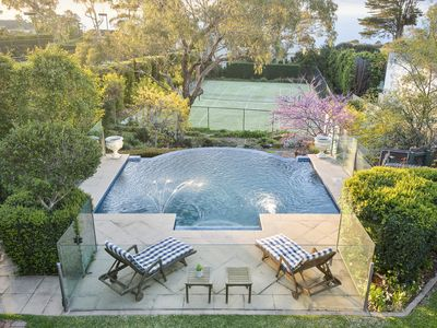 Photo for Hendra Lodge with Pool & Tennis Court