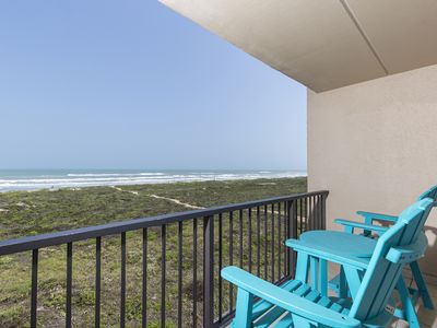 Photo for Picture Perfect Ocean Front Condo! Balcony Overlooking Beach, Multiple Swimming Pools & a Hot Tub!