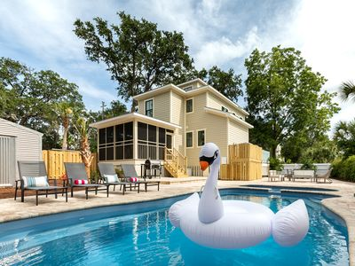 Photo for Newly Remodeled and Decorated for Summer 2019 with Private Pool and Spa Oasis