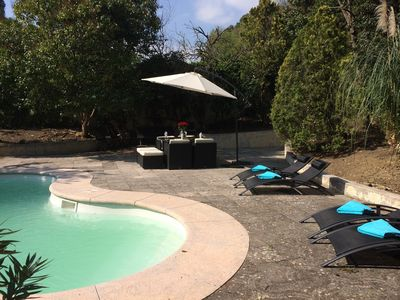 Photo for Renovated Private Provencal Villa With Pool Set within Mature Gardens