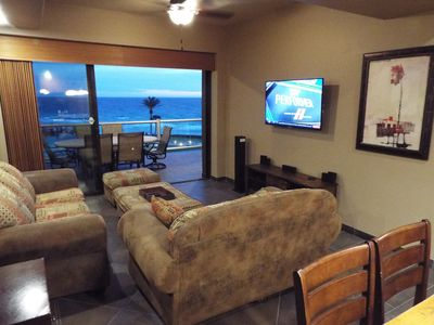 Photo for Magnificent Luxury OceanFRONT 3BD Condo in Preferred Cristal Building Location!