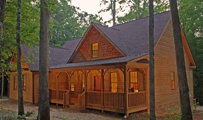 Photo for The Red Star House is located in Fayetteville West Virginia's New River Gorge