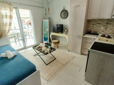 Photo for 1BR Apartment Vacation Rental in Chaniotis