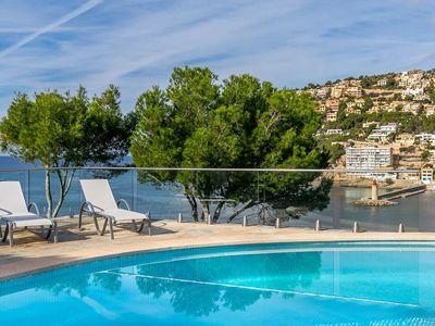 Photo for Beautiful Villa Port d'Andratx, in Mallorca, with private pool, 6 bedrooms, 12 sleeps