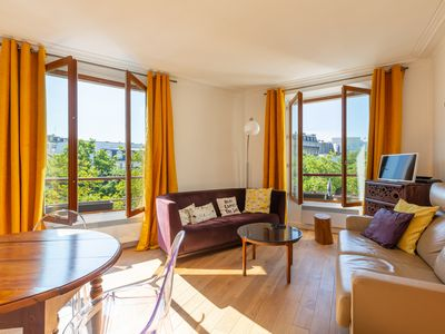 Photo for Delightful flat with great views - Close to Pompidou and the Notre Dame (Veeve)