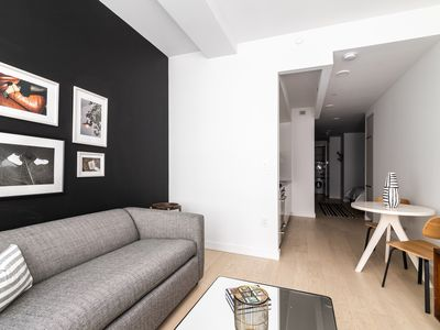 Photo for Sonder | Wall Street | Brilliant 1BR + Laundry