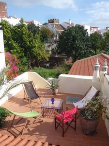 Photo for 2 bedroom townhouse with charming garden in the historic centre of Silves