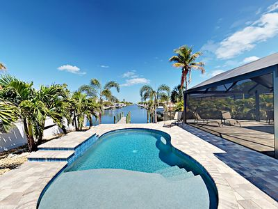 Pool - Welcome to your waterfront Bradenton home! Professionally managed and maintained by TurnKey Vacation Rentals.