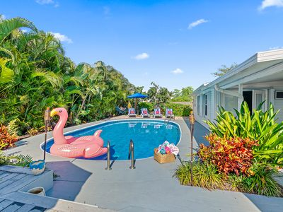 Photo for Villa Tropicana near PGA Blvd with a large heated  private pool