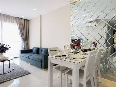 Photo for Luxurious 2BR 2BA Apt, City View, Near DT - 1.6Km