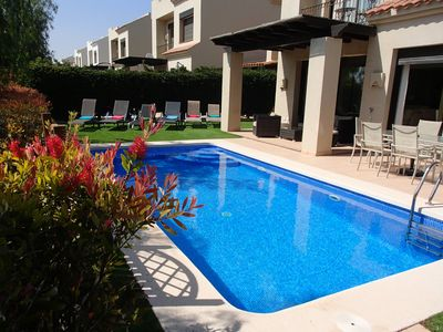 Photo for 3 Bed Villa With Private Pool Overlooking The 14th Fairway