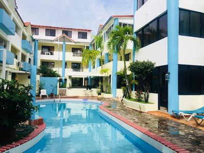 Photo for Great two-bedroom Apartment in Heart Sosua - Hotel Plaza Europa