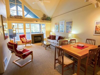 Photo for Charming  Glacier Lodge Condo - Holiday Whistler