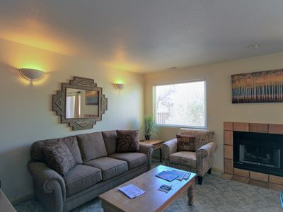 Photo for Lovely home w/ shared hot tub and pool, near arches national park!