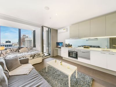 Photo for A Cozy CBD Studio Opposite Southern Cross