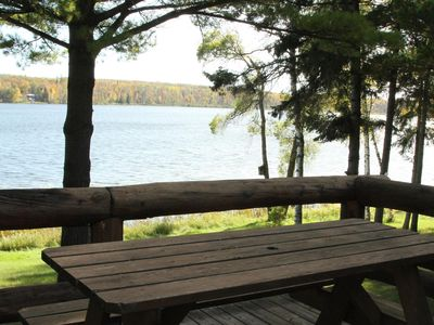 Historic Cabin on Big Elbow Lake.  MIDWEEK SPECIALS  Sunday to Friday -