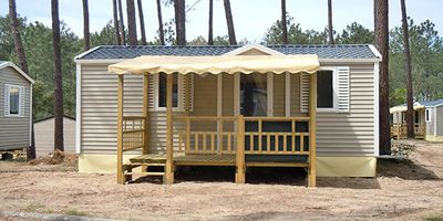 Photo for Camping de La Plage **** - Mobile home 3 rooms 4/6 people