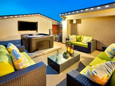 Photo for 20% OFF APR+MAY - Modern Beach Luxury, Jacuzzi + Rooftop Deck
