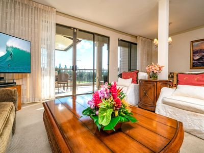 Photo for K B M Hawaii: Ocean Views, Exclusive Terrace Level 2 Bedroom, FREE car! Apr, Jun, Jul Specials From only $159!