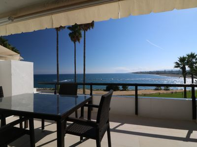 Photo for Apartment located on the second floor with spectacular views of the sea