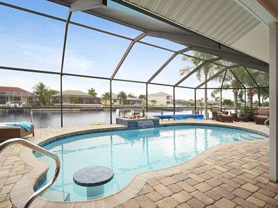 Photo for SWFL Rentals - Villa Judy - Beautiful Gulf Access Pool Home