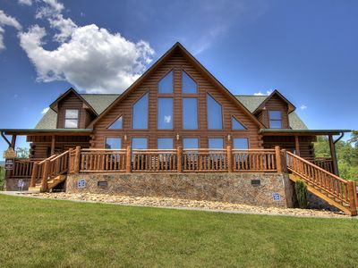 Photo for The Ultimate Premier cabin with 4 King size Master Suites & Flat Sceen TV's!