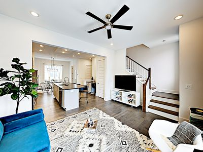 Photo for Brand-New Contemporary 3-Story Townhome – Walk to Dining & Shops